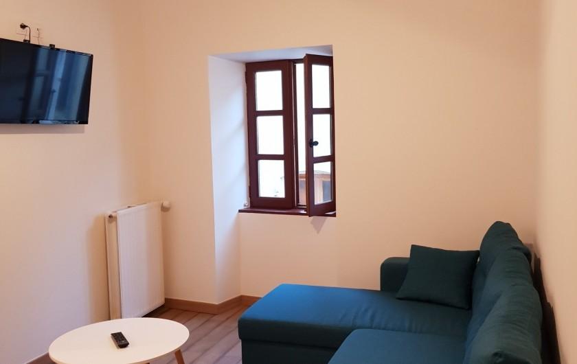 Location de vacances - Appartement à Saint-Montan - Salon Séjour