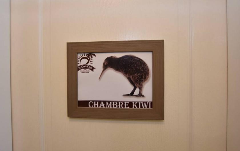 Location de vacances - Chambre d'hôtes à Lalinde - Chambre Kiwi