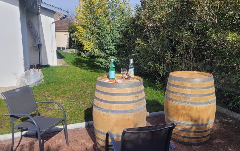 Location de vacances - Villa à La Teste-de-Buch - cuisine équipée moderne