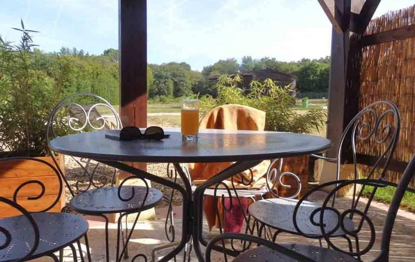 Location de vacances - Gîte à Bouillac - La terrasse du Chêne