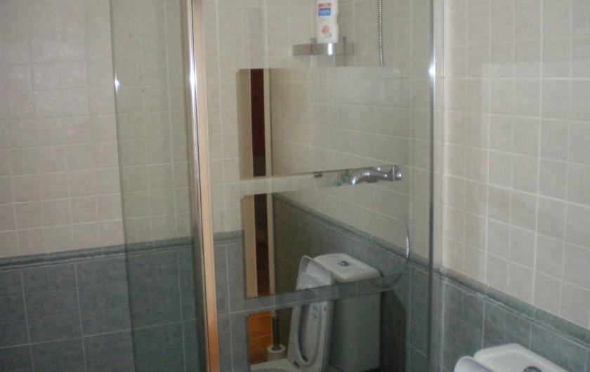 Location de vacances - Maison - Villa à Torrox Costa - Salle de douche avec wc