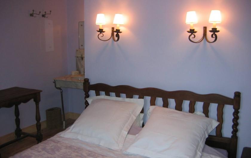 Location de vacances - Maison - Villa à Falaen - chambre Lilas