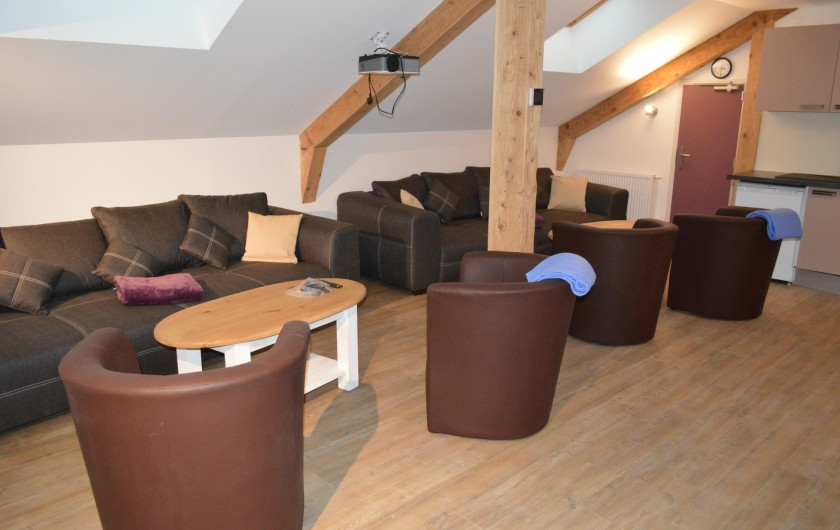 Location de vacances - Chalet à Gérardmer - SALON DES CHAMBRES D'HÔTES