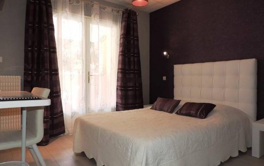 Location de vacances - Hôtel - Auberge à Saint-Paul-de-Fenouillet - chambre
