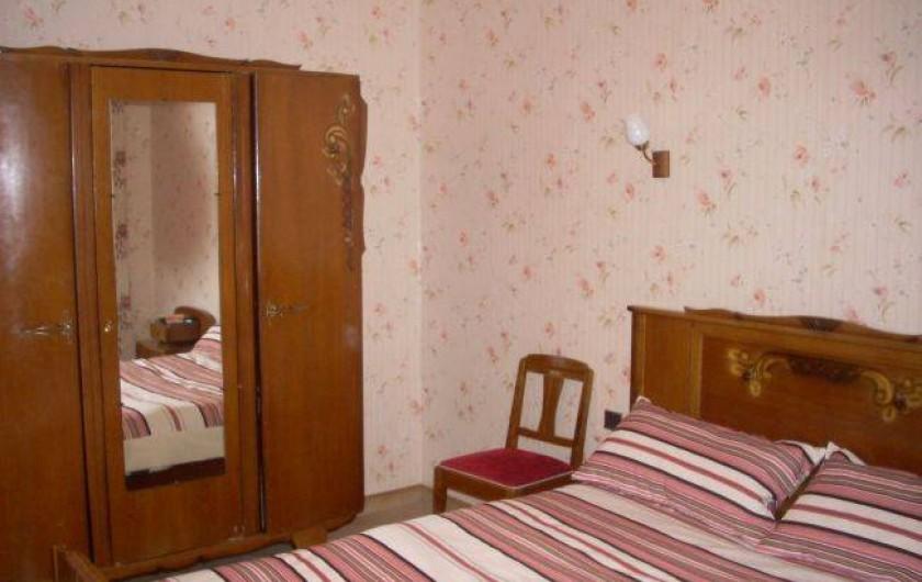 Location de vacances - Villa à Saint-Cyprien Plage - Chambre 3 1 lit en 140