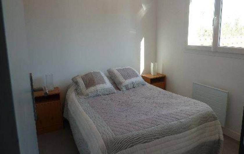 Location de vacances - Appartement à Montescot - chambre 1, 1 lit double