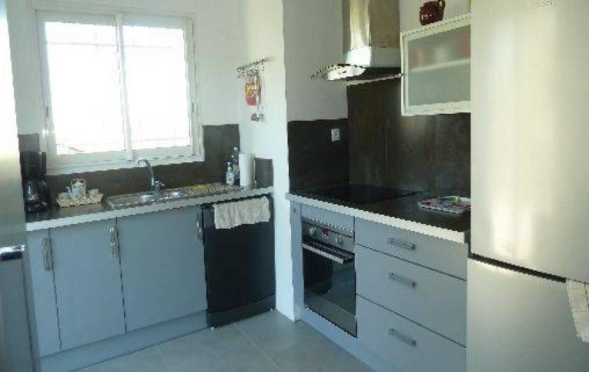 Location de vacances - Appartement à Montescot - la cuisine