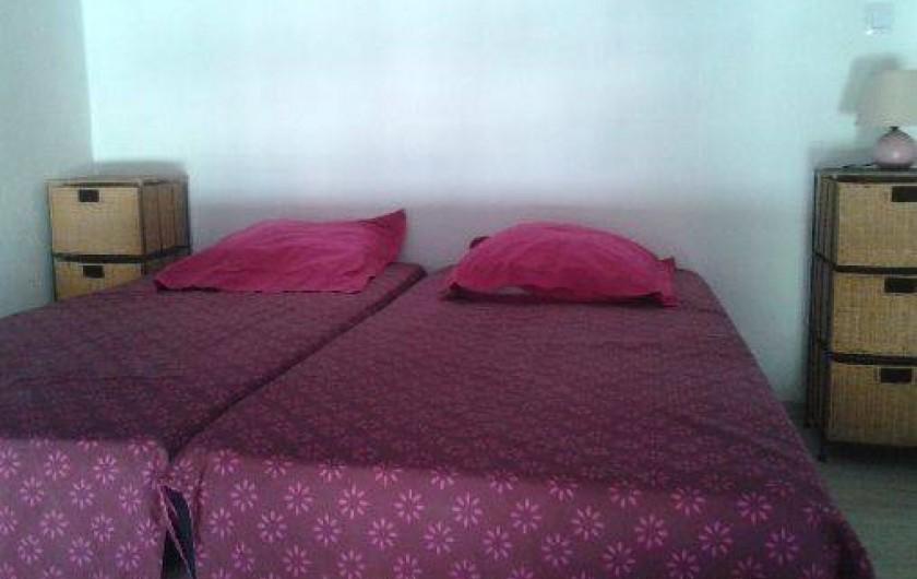 Location de vacances - Appartement à Agde - chambre 2