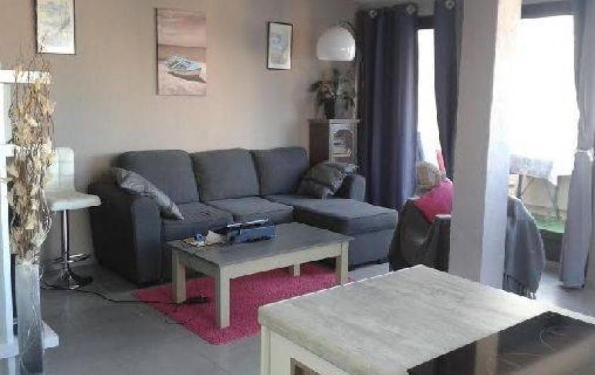 Location de vacances - Appartement à Agde - salon