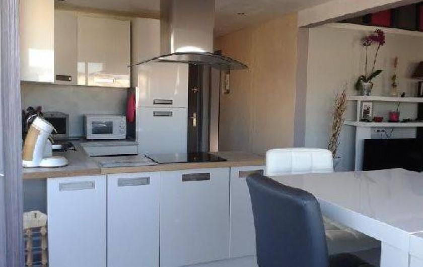 Location de vacances - Appartement à Agde - cuisine