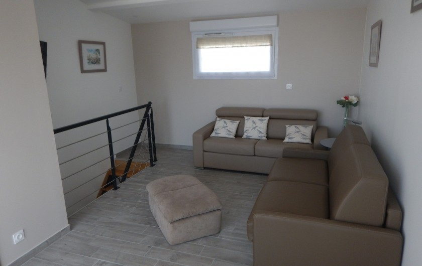 Location de vacances - Villa à Manhattan - Chambre 2 avec canapé lit