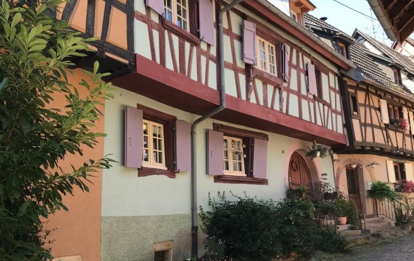 Location de vacances - Gîte à Raon-lès-Leau - L'Alsace à 2 pas