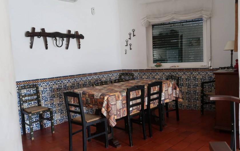 Location de vacances - Villa à Albufeira - Sale a manger
