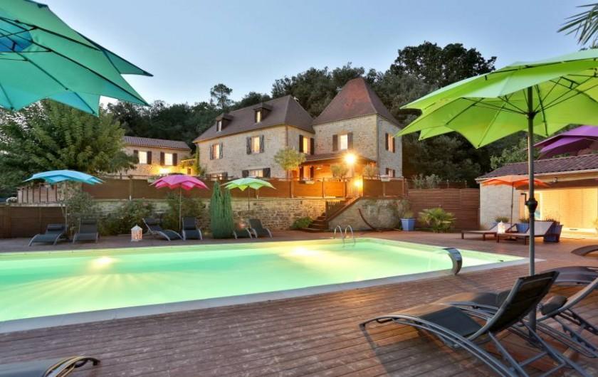 Location de vacances - Gîte à Carsac-Aillac - Domaine de campagnac