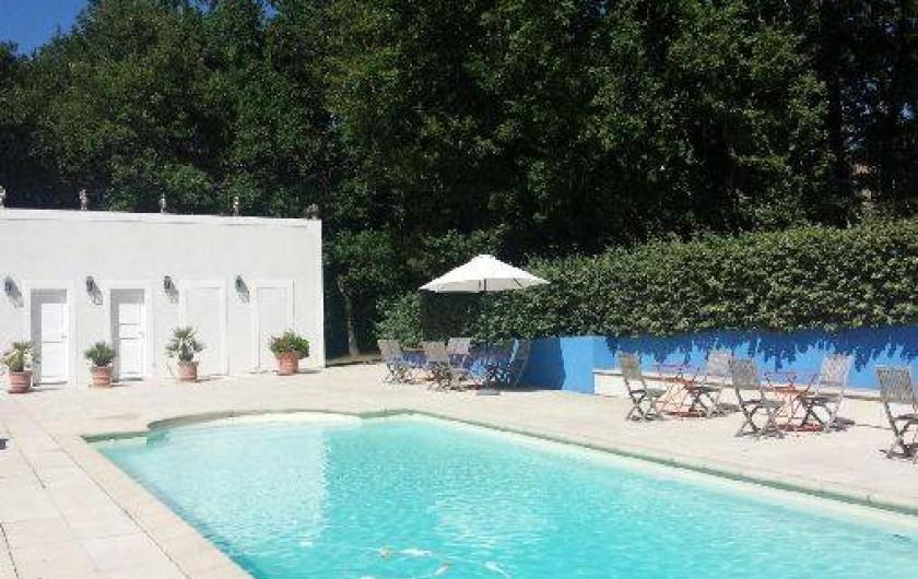 Location de vacances - Chambre d'hôtes à Saint-Lager-Bressac - Piscine