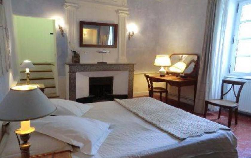 Location de vacances - Chambre d'hôtes à Saint-Lager-Bressac - Chambre BLEU 2 à 3p