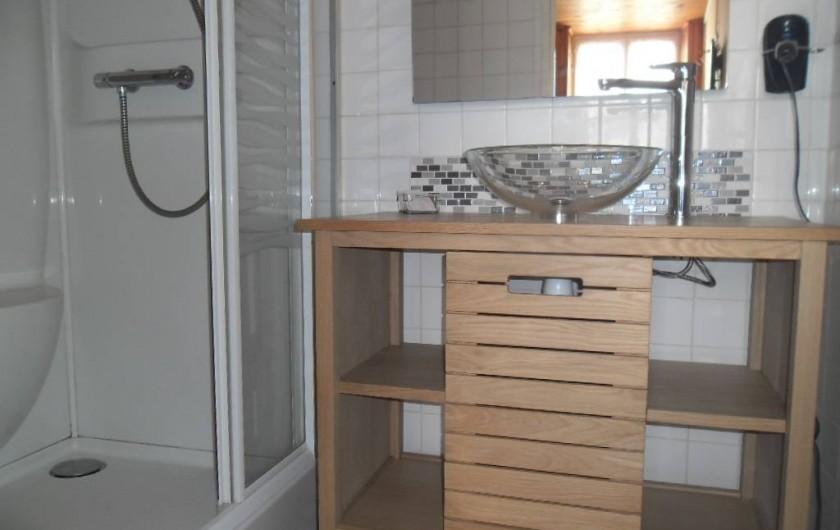 Location de vacances - Appartement à Autignac - Salle d'eau chambre n°6