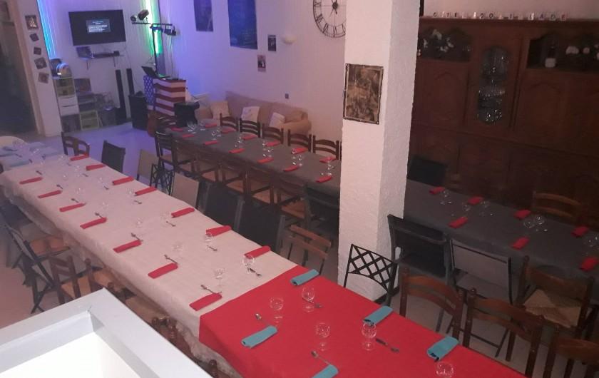 Location de vacances - Appartement à Autignac - Salle de réception pour 50 personnes