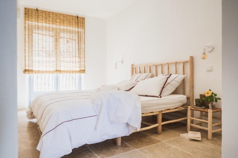 Location de vacances - Mas à Potelières - Premier étage : Suite avec SDB Privé