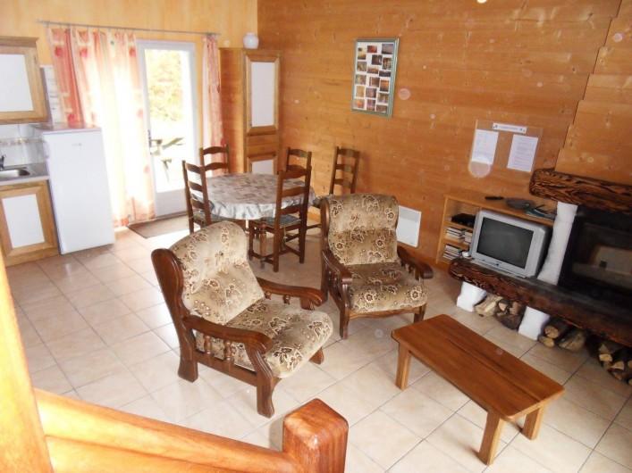 Location de vacances - Gîte à Le Soulié - Vue intérieure gite de la Forêt