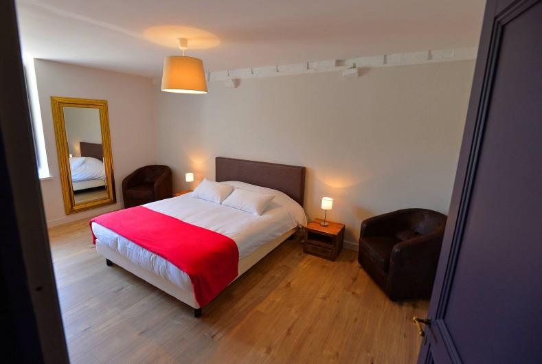 Location de vacances - Gîte à Chambord - Gîte de la Gabillière - chambre avec lit double