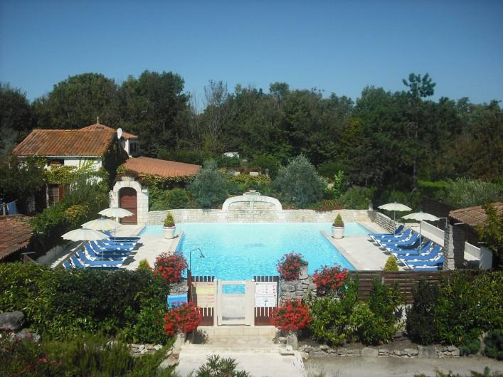 Location de vacances - Gîte à Saint-Pierre-d'Oléron - Piscine