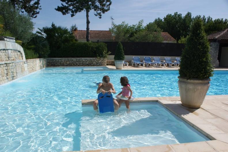 Location de vacances - Gîte à Saint-Pierre-d'Oléron - Bassins enfants