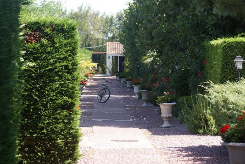 Location de vacances - Gîte à Saint-Pierre-d'Oléron - Allée