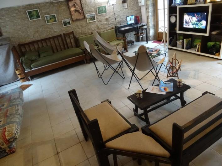 Location de vacances - Maison - Villa à Lacave - Les Galets pièce à vivre  côté salon (2019)
