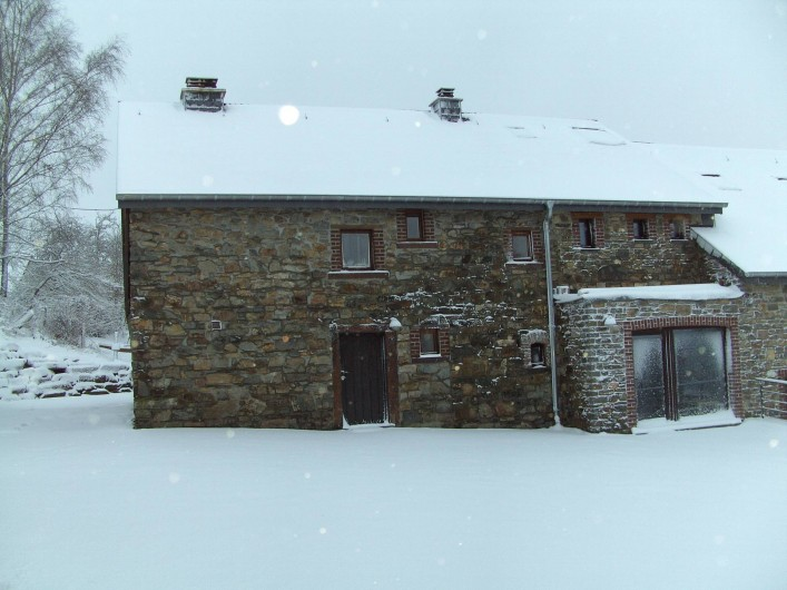 Location de vacances - Gîte à Stavelot - Aux Bouleaux 18 personnes