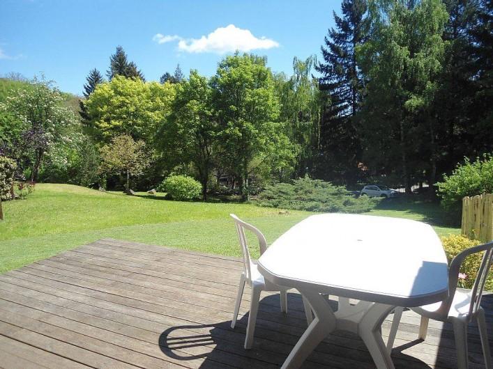 Location de vacances - Chalet à Osenbach - Térrace