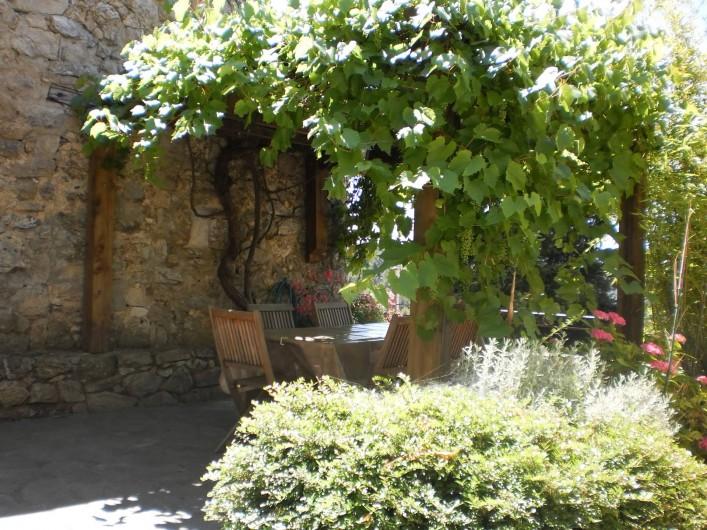 Location de vacances - Gîte à Rocles - terrasse