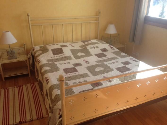 Location de vacances - Appartement à Saint-Sorlin-d'Arves - Chambre