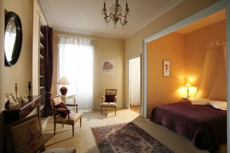 Location de vacances - Chambre d'hôtes à Saintes - Alcove