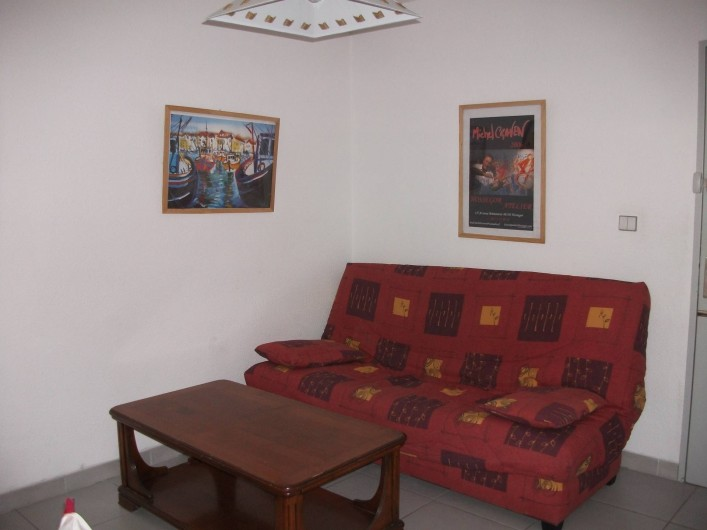 Location de vacances - Appartement à Le Barcarès - salon