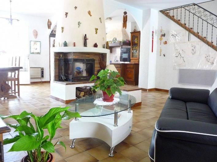 Location de vacances - Villa à Six-Fours-les-Plages - Salon