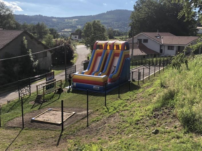 Location de vacances - Chalet à Rupt-sur-Moselle - jeux