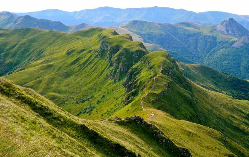 Location de vacances - Chambre d'hôtes à Junhac - Monts d'Auvergne