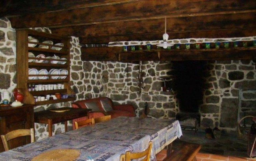 Location de vacances - Gîte à Florentin-la-Capelle - Cuisine-salle à manger