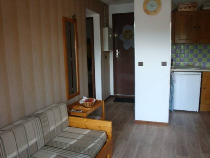 Location de vacances - Appartement à Les Deux Alpes - Entrée + coin cuisine