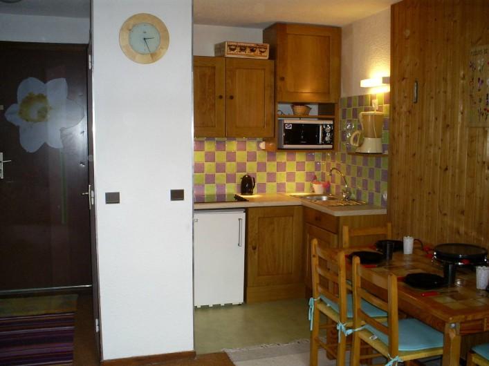 Location de vacances - Appartement à Les Deux Alpes - Coin cuisine