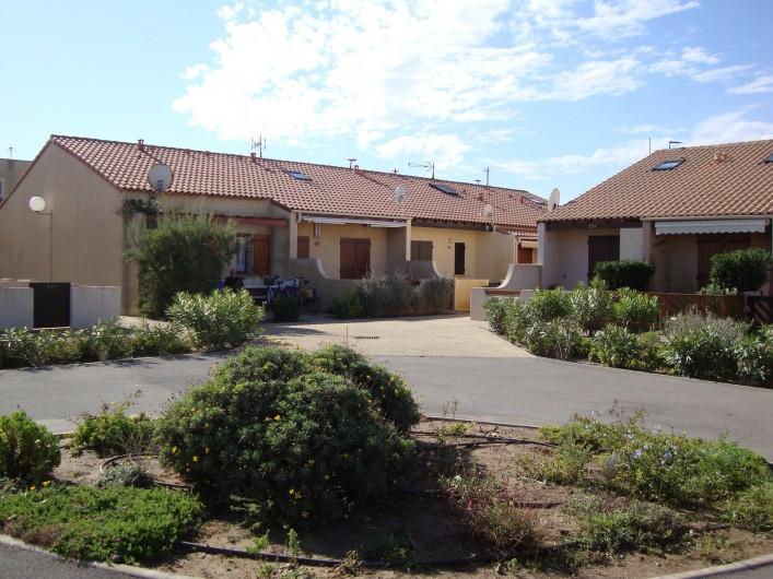 Location de vacances - Maison - Villa à Port Leucate - Vue à partir de la terrasse
