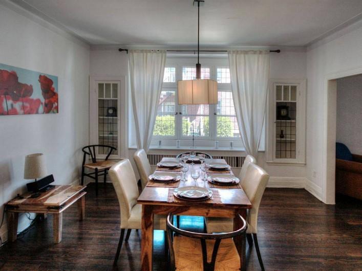 Location de vacances - Appartement à Montréal - La salle à manger