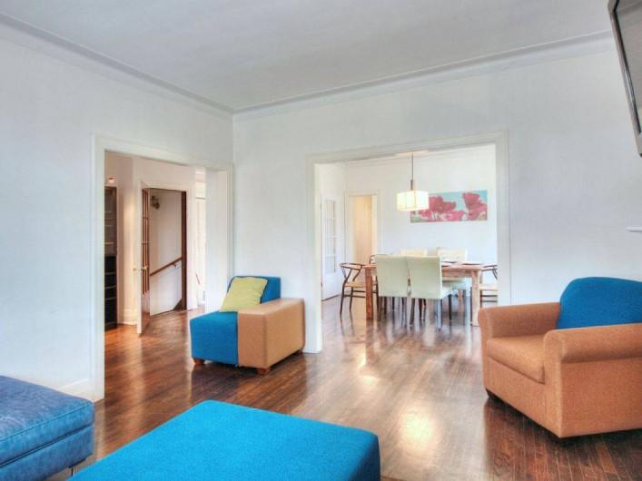 Location de vacances - Appartement à Montréal - Le salon