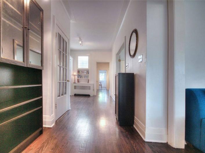 Location de vacances - Appartement à Montréal - le couloir