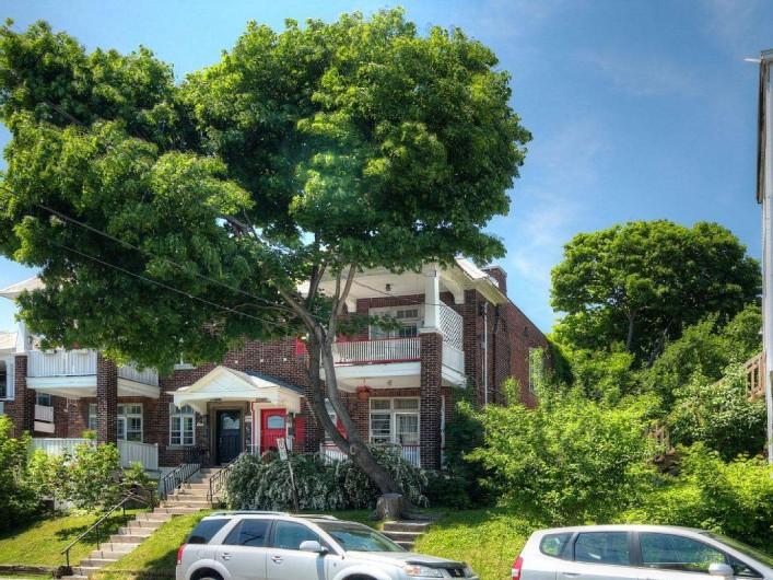 Location de vacances - Appartement à Montréal - Façade de la batisse