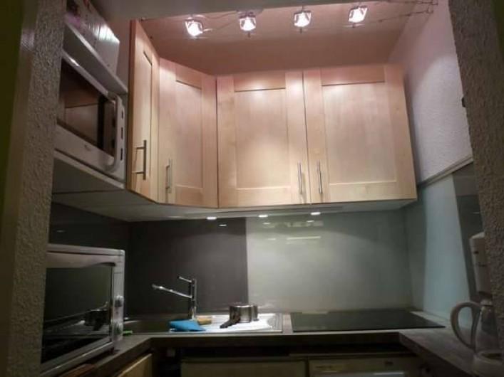 Location de vacances - Appartement à Le Corbier - cuisine