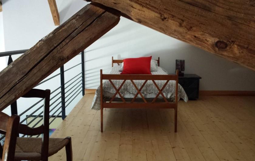 Location de vacances - Gîte à Armissan - Mezzanine lit en 90