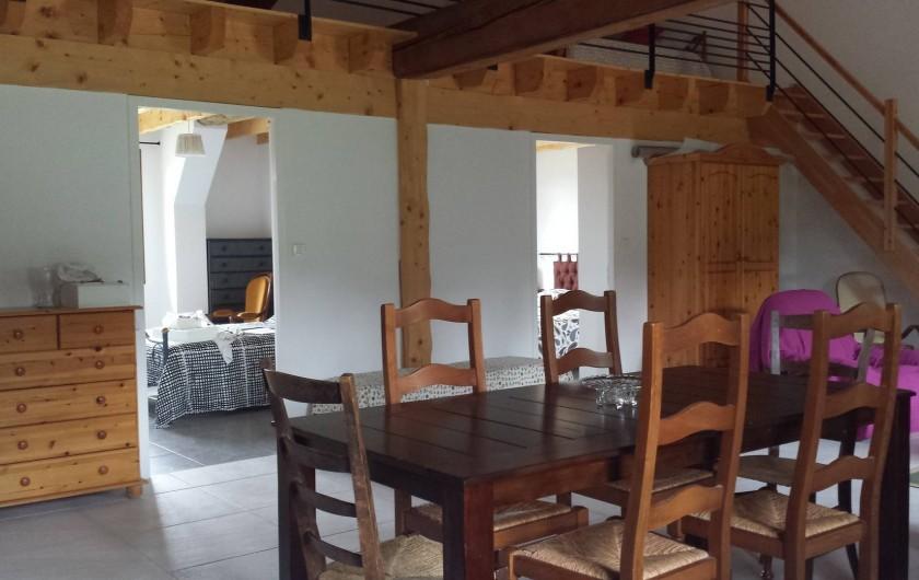 Location de vacances - Gîte à Armissan - Pièce à vivre gîte 1