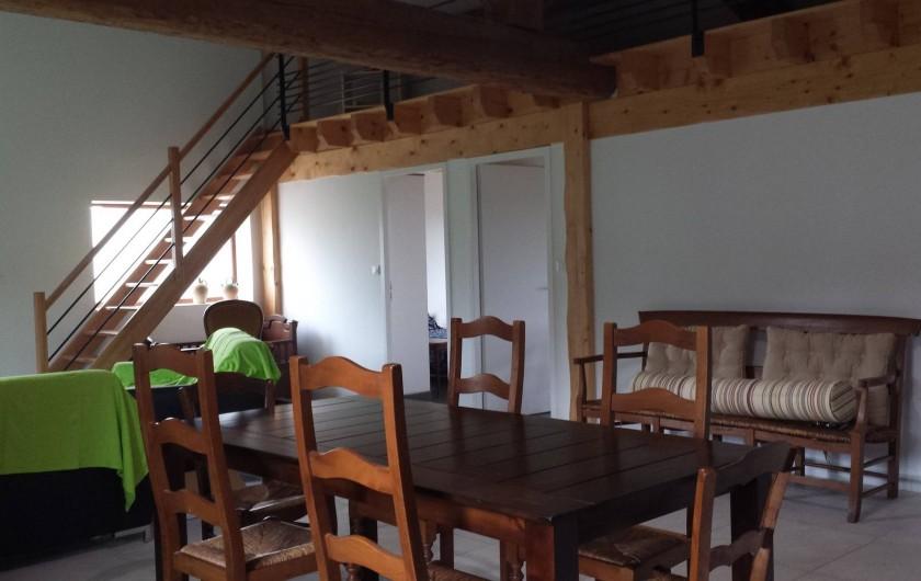 Location de vacances - Gîte à Armissan - Pièce à vivre gîte 2